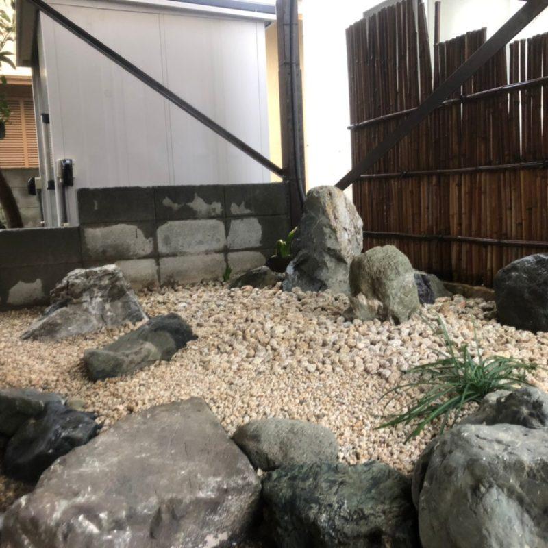 造園西山 施工事例 石庭